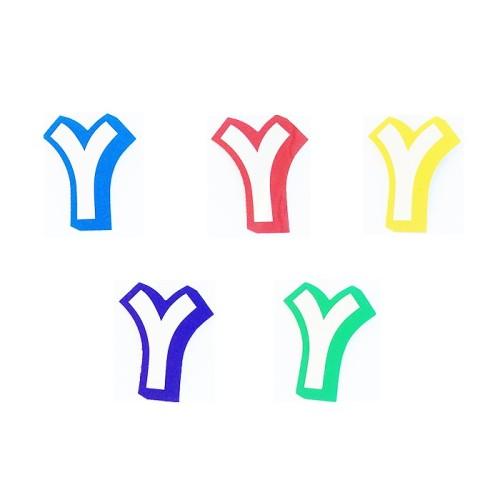 Buchstabe Y - Aufkleber