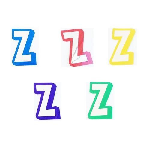 Buchstabe Z - Aufkleber