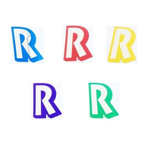 Letter R - sticker
