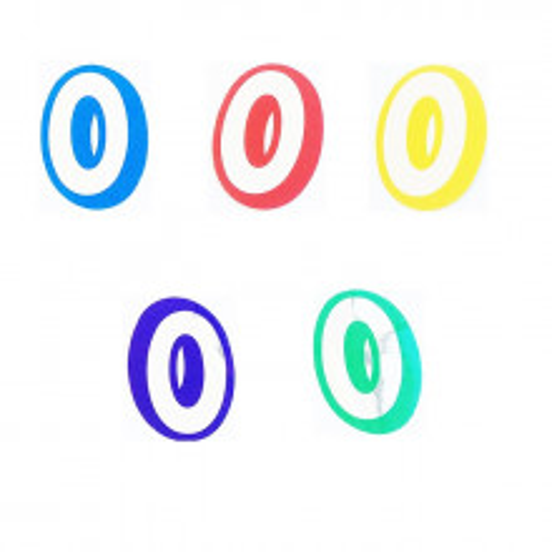 Letter O - sticker
