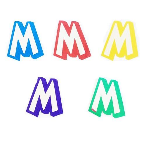 Letter M - sticker
