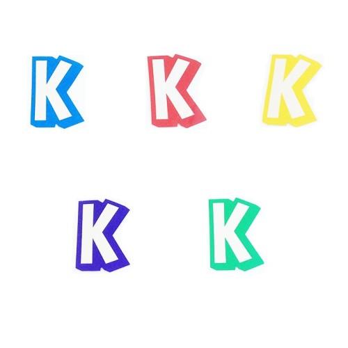 Črka K - nalepka