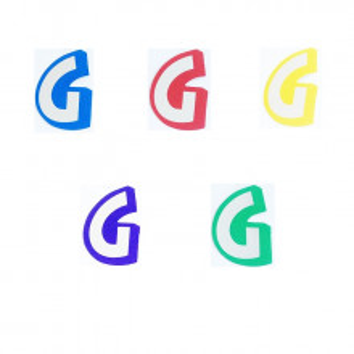 Letter G - sticker