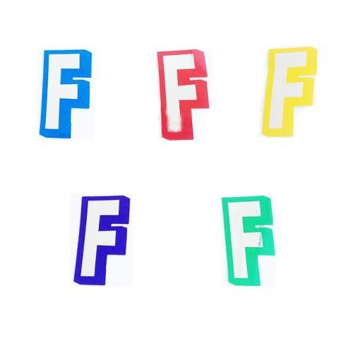 Letter F - sticker