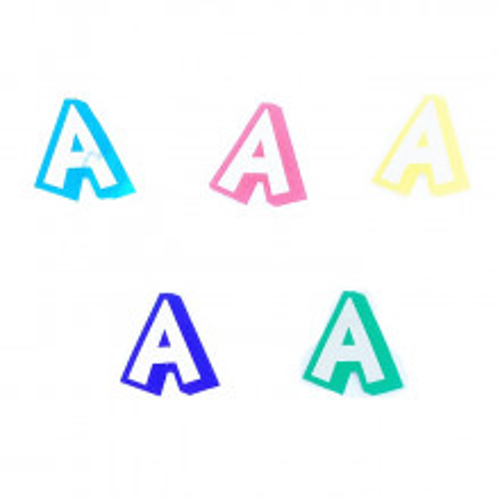 Letter A - sticker