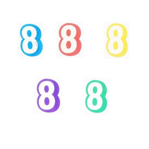 Number 8 - sticker