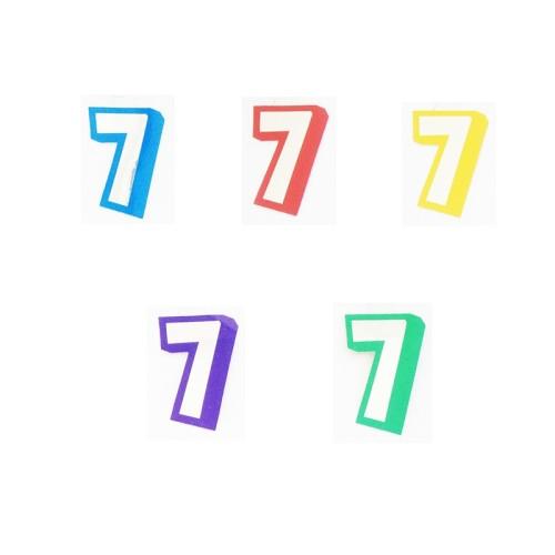 Številka 7 - nalepka