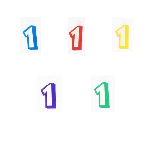 Številka 1 - nalepka