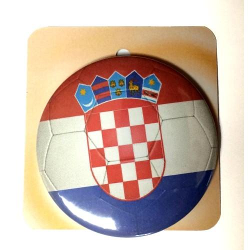 Button badge - Croatia