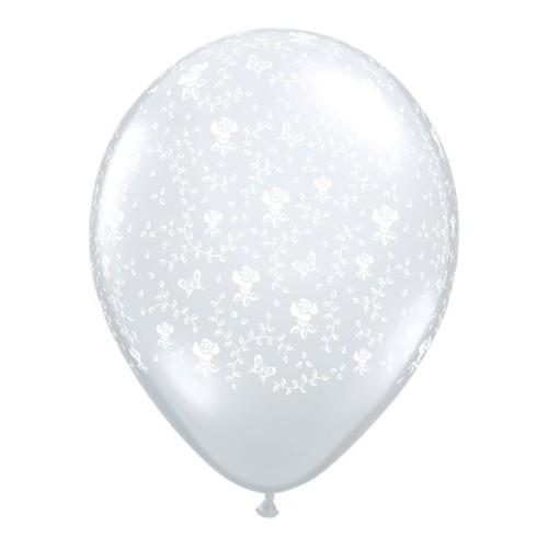 Balloon Flowers - Diamond Clear 13 cm