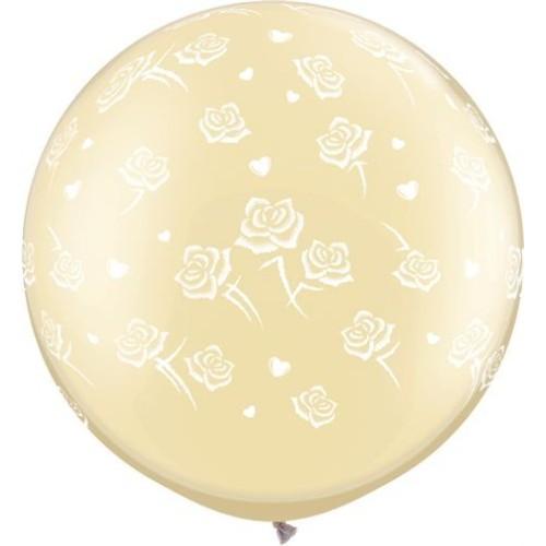 Balloon Hearts & Roses 30'' 78 cm