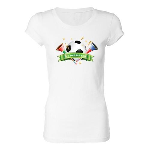 Woman T - Shirt - Football time