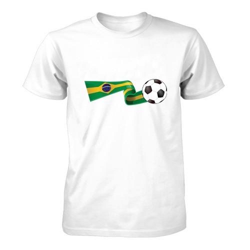 Moška majica - Zastava in žoga
