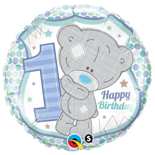 Me to you Tiny Tatty 1st Birthday Boy - foil balloon
