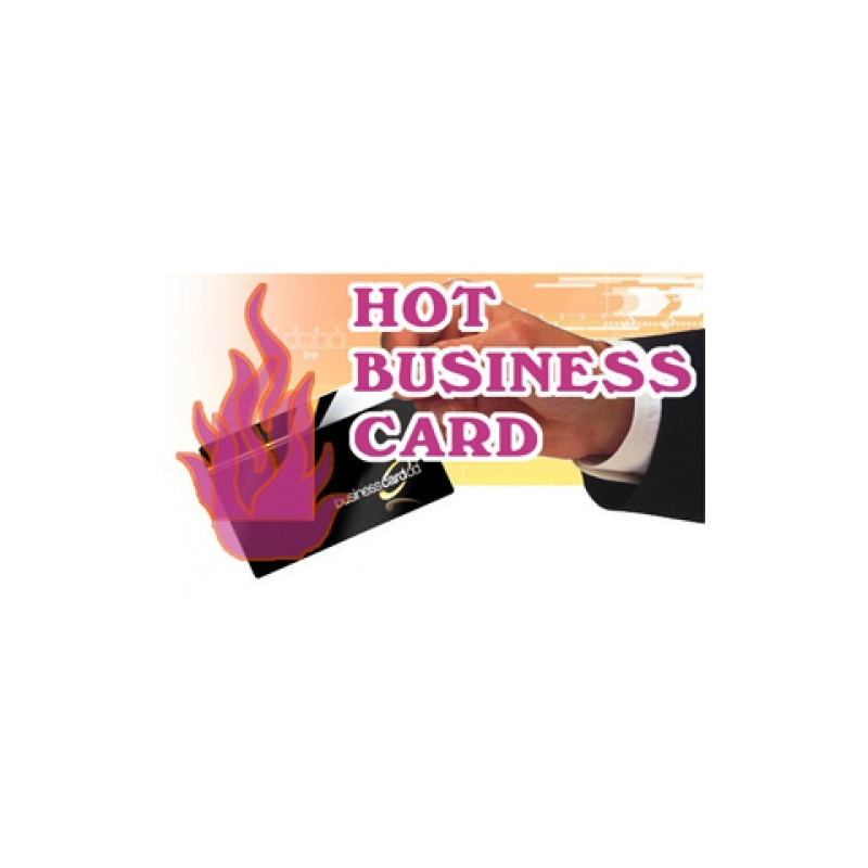 Hot Business Card