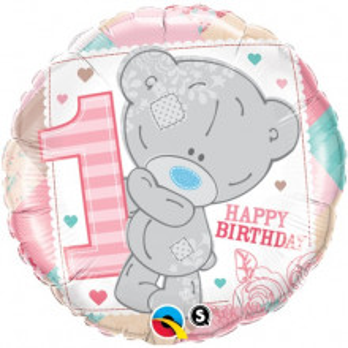Me to you Tiny Tatty 1st Birthday Girl - folija balon