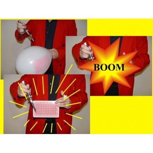 Jumbo balon karta - Midi
