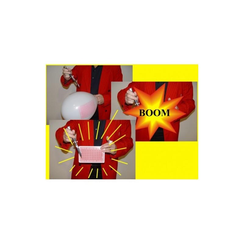 Jumbo balloon card - midi