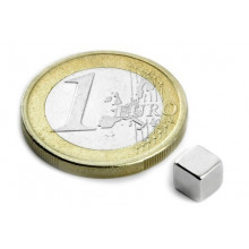Magnet Supermočan kocka - 5 mm