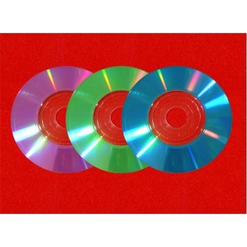 Barvanje mini DVD-jev