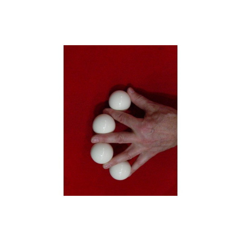 Multiplying balls - white