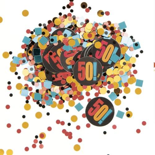 Birthday Cheer 50 confetti