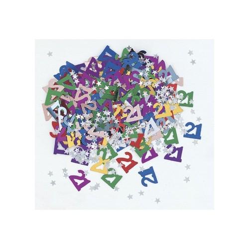 Confetti 21 with stars