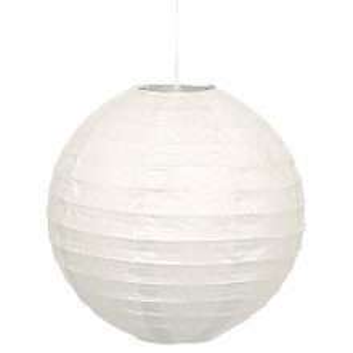 Lampion - White 25 cm