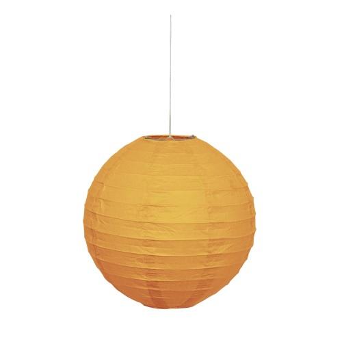 Lampion - Orange 25 cm