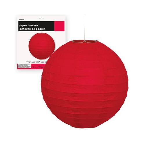 Lampion - Red 25 cm