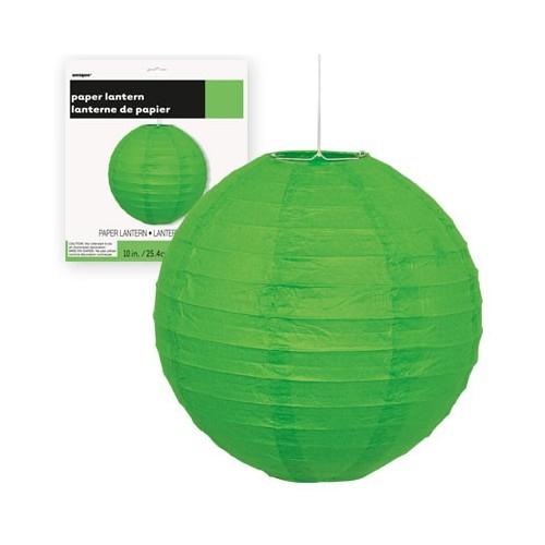 Lampion - Lime Green 25 cm