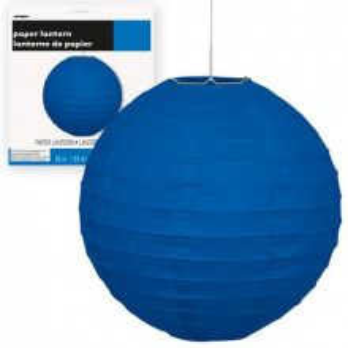 Lampion - Royal Blue 25 cm