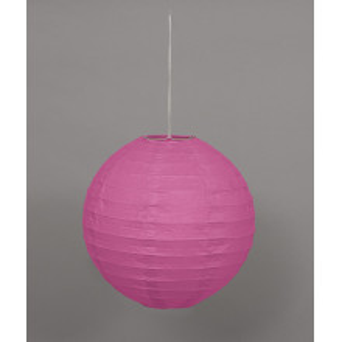Lampion - Hot Pink  25 cm