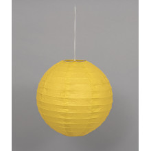 Lampion - Yellow  25 cm