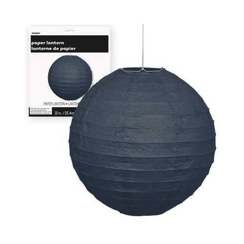 Lampion - Black 25 cm