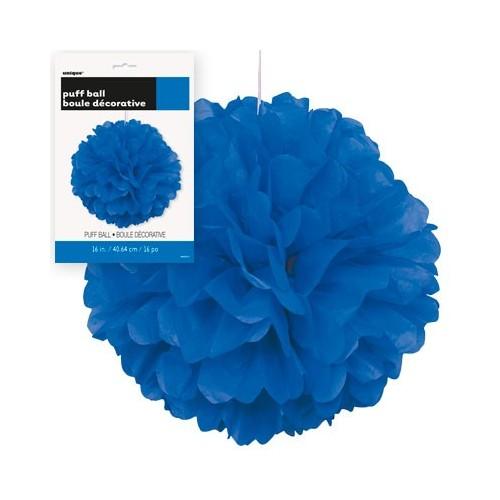 Puff Pom lampijon - Royal Blue