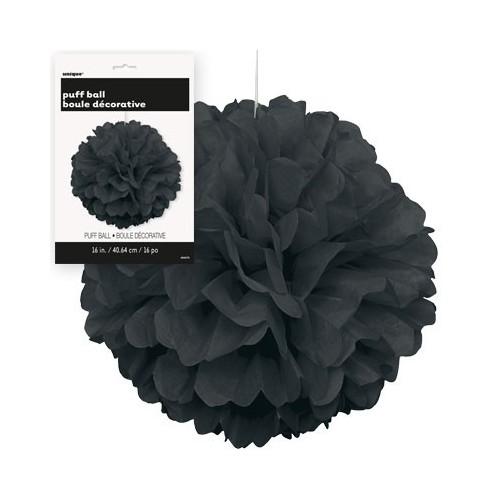 Puff Pom lampijon - Black