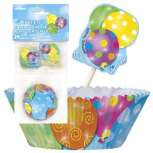 Twinkle balloons cupcake decorating kit