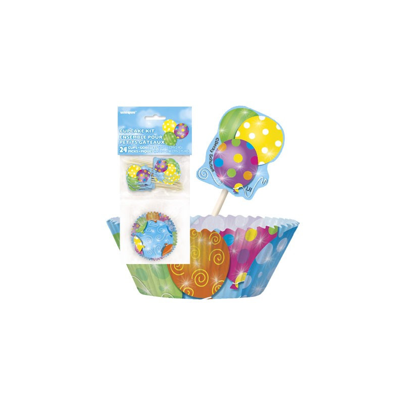 huge selection of e28fe 3c5fc MagicBalloons - Twinkle balloons cupcake decorating kit