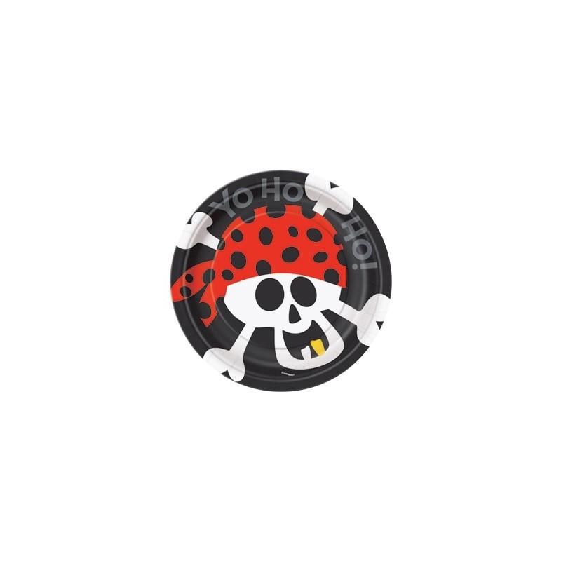 Pirate Fun krožniki 18 cm