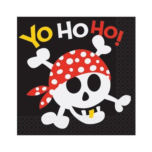 Pirate Fun napkins