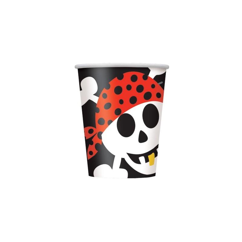 Pirate Fun cups