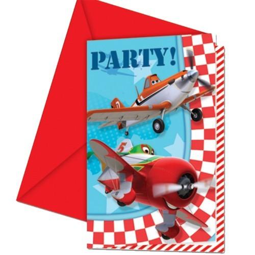 Planes Dusty invitations