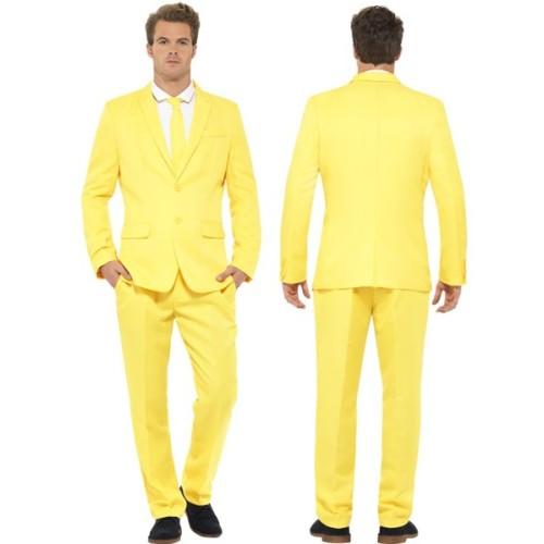 Moška obleka rumena