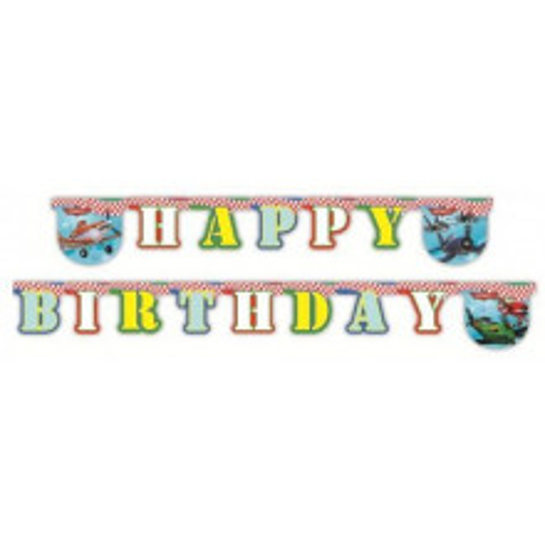 Planes Happy Birthday banner