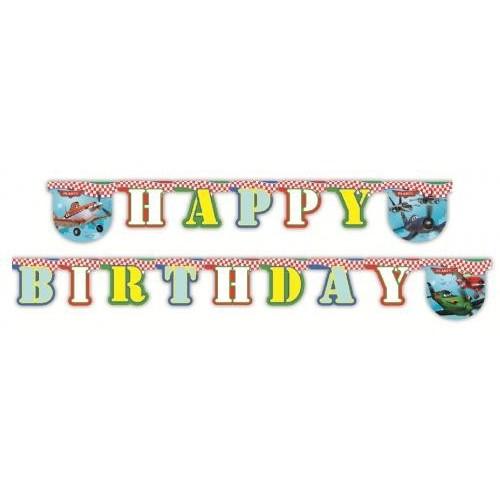 Planes Happy Birthday Partykette