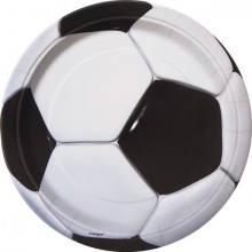 Soccer plates 23 cm