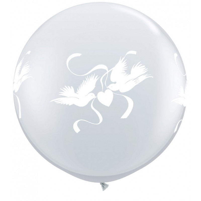 Balon Love Doves 90 cm