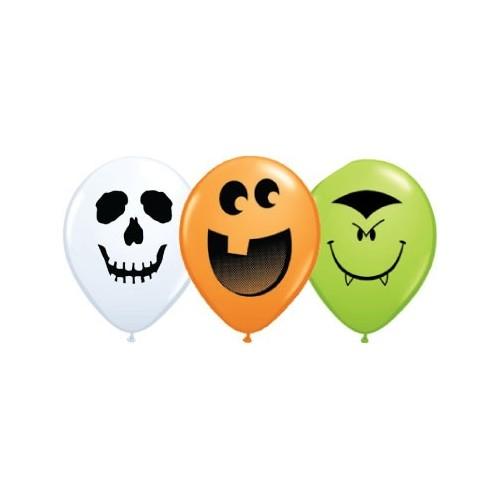 Balloon Halloween Face 5''