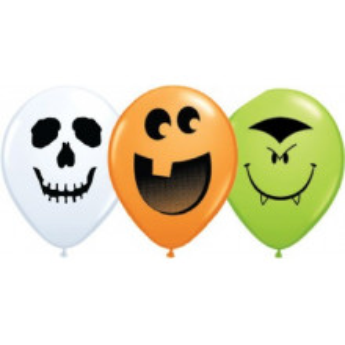 Balon Halloween Face 12 cm